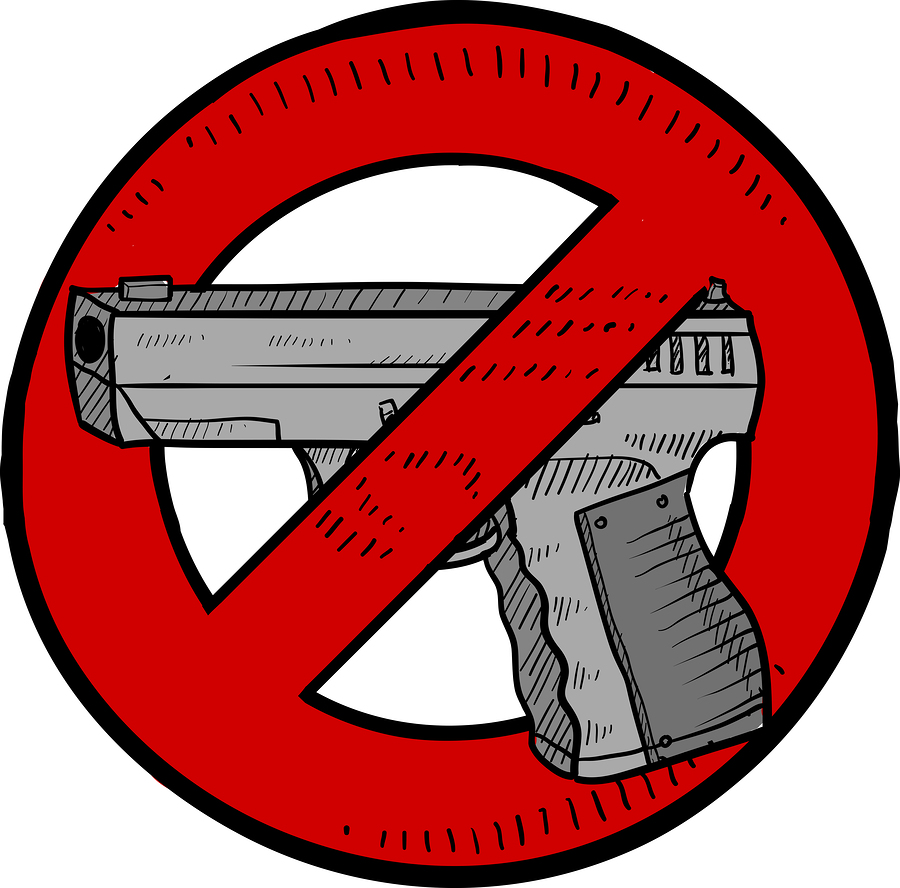libertarian gun control Private gun control policies would be implemented pretty much anywhere where there is high risk, such as on the campuses of privately operated schools and universities, which in a libertarian society.