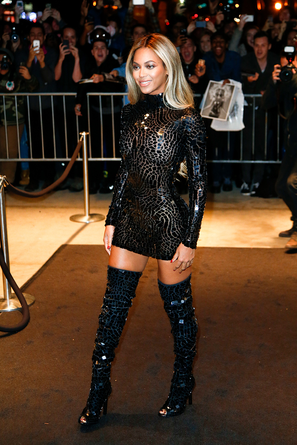 NEW YORK-DEC 21: Entertainer Beyonce attends a release party and