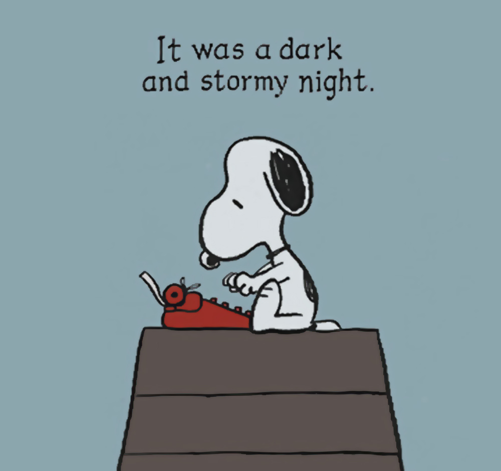 essay beginning with the application was first any shadowy and also stormy night images