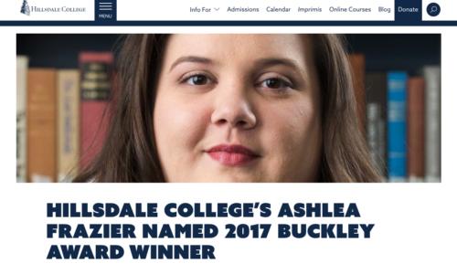 Four Ways to Make a Buckley Award Winning Impact 1